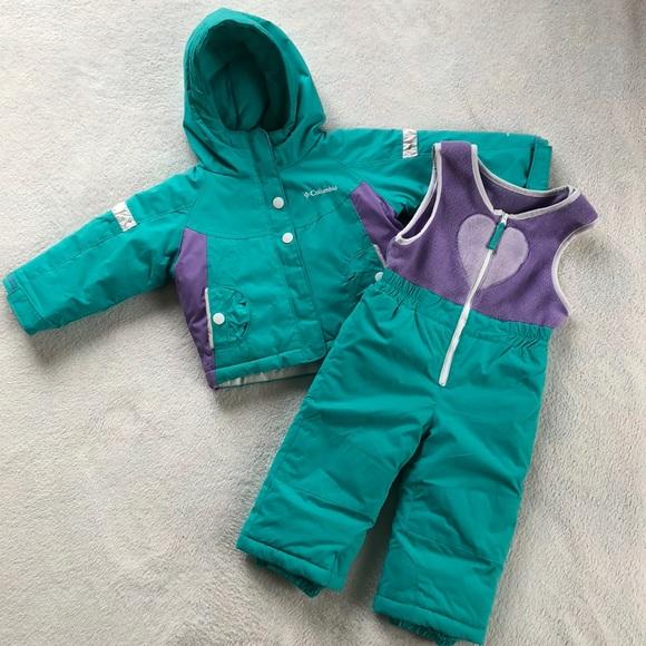 289ad3e0b Columbia Matching Sets   2piece Snowsuit Bibsjacket 24 Mos   Poshmark